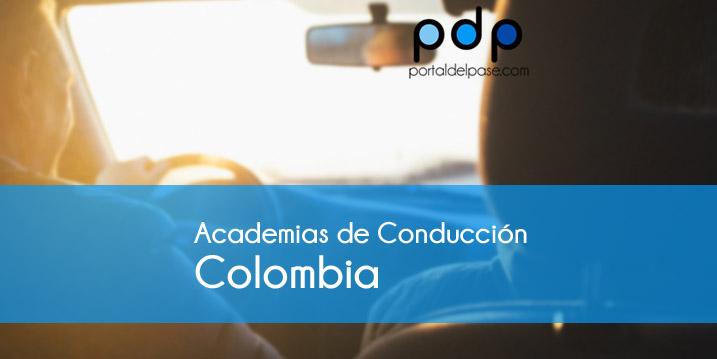 Directorio de Academias de Conducción en Colombia