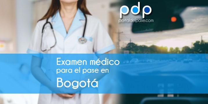 Examen médico para licencia de conducir en Bogotá
