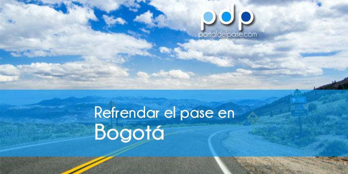 Renovar el pase de conducir en Bogotá