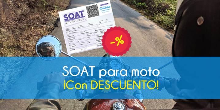 Comprar el SOAT para moto 2021
